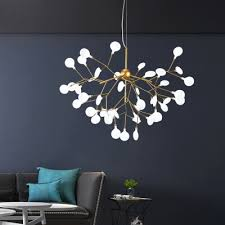 home decoration height adjule heracleum ii led chandelier 9 27 36 45