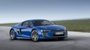 audi r8 wallpaper blue.  Blue HD Background Audi R8 Etron Blue Front And Side View Sportscar Wallpaper Inside