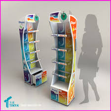 Free Standing Shop Display Units Stunning Modern Design Modified Acrylic Solid Surface Retail Store Display