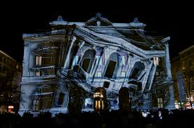 d projection mapping and its impact on media  architecture in