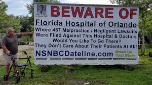 Horrifically unsterile operation at Florida Hospital Orlando by Dirty Dr. Melvin  Fields - YouTube