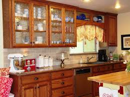 Glass Cabinet Doors Kitchen Replacement Cabinet Doors With Glass Roselawnlutheran