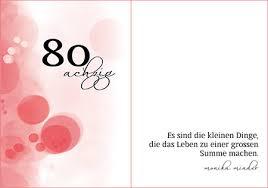 Sprüche Zum 80 Geburtstag Geburtstagssprüche Kurze Und Lange