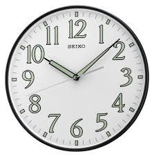 11 75in seiko neva wall clock gsk4310