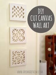 cut canvas tutorial on cut canvas wall art tutorial with 14 inspiring spring ideas pinterest cut canvas tutorials and craft