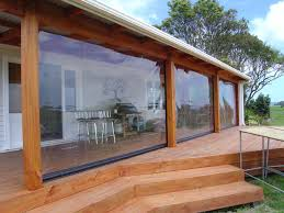 residential john hewinson canvas whangarei intended for plastic curtains patio idea 14 plastic patio enclosures clear vinyl