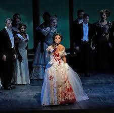 Pretty Yende in the Met Opera's production of Donizetti's Lucia di  Lammermoor | Opera singers, Pretty, Opera