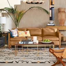 who makes west elm furniture. Hamilton Leather Sofa (81 Who Makes West Elm Furniture