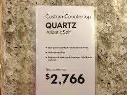 Ikea Wood Countertop Review Atlantic Salt Quartz Countertop Ikea Kitchen Ideas Pinterest