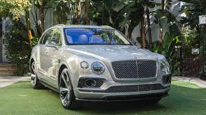 bentley new car release2017 Bentley Bentayga first look and launch at LA Auto Show