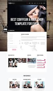 Barberia Un Th Me Wordpress Pour Cr Er Un Site Web De Salon De