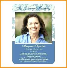 Memorial Announcement Cards Funeral Announcement Template Free 8 Cards Templates Authorization