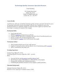 sample resume quality assurance professional resume cover letter sample resume quality assurance professional resume cover letter sample