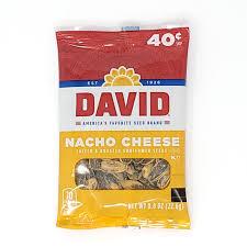 Semillas David de Queso (Sunflower Seeds Nacho Cheese) - Antojo Boricua