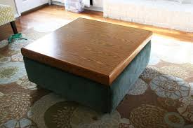 take an ugly coffee table and transform it into a diy ottoman save so much