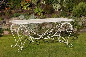 Tisch 30kg Gartentisch Esstisch Eisen Nostalgie Antik Stil 160x80cm