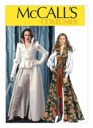 Mccalls Pattern Delectable M48 Collared Coat Top Corset and Belt Sewing Pattern
