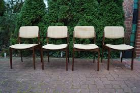4x 60er Jahre Nussbaum Stühle 50er Tisch Sessel Etsy