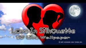 Love In Silhouette 3D Live Wallpaper ...