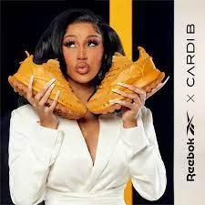 Cardi B sneakers