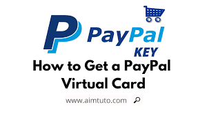 Chase's freedom flex and freedom unlimited are both offering 5% rewards on up to $1,500 of paypal purchases through dec. How To Setup Paypal Key And Get A Free Virtual Credit Card Aim Tutorials