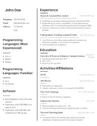 Computer Science Student Looking For Advice On Resume