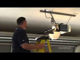 myq garage door openerChamberlain Garage Door Opener Installation Videos  Chamberlain