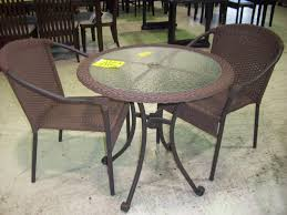 sears outdoor dining sets small patio table with umbrella hole courtyard creations patio furniture