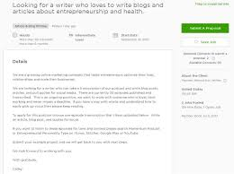 Upwork Cover Letter Sample For Article Blog Content Writing