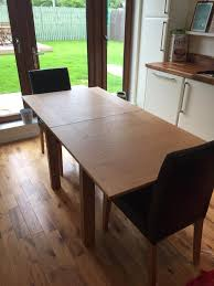 Marks And Spencer Stockholm Oak Extending Dining Table And Pair Of - Marks and spencer dining room chairs
