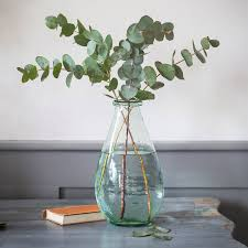 extra large recycled glass vase by all things brighton beautiful