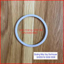 Gioăng máy xay sinh tố Sunhouse SHD5315, SHD5538, SHD5539