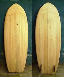 hollow wooden surfboard