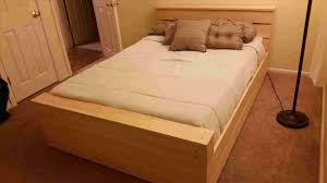 diy bed frame with box spring