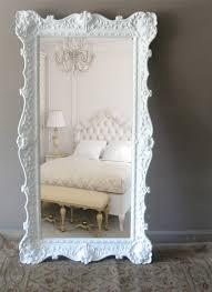 Shabby Chic Bedroom Mirror Mirror Leaning Floor Mirror In Bedroom Leaning Floor Mirror Are
