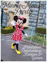 everything for your pink minnie mouse party