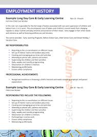 Care Worker Resume Child Care Resume Examples Awesome Sample Childcare At