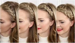 Tuto Coiffure Couronne Coupe Cheveux Long