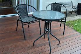 Small Outdoor Table Set Patio Table And Chairs Dg Casa San Juan Loveseat 2 Chairs And