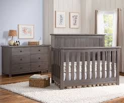 baby boy furniture nursery. serta northbrook 2 piece nursery set crib and double dresser in rustic grey baby boy furniture