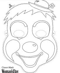 c1140821b73cf323eb31167aaaa010c9 60 best images about coloriage on pinterest symmetry activities on happy face mask template