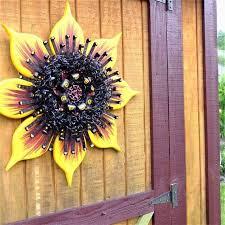 recycled garden art outdoor wall art
