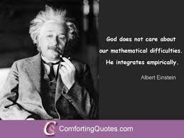 Albert Einstein Famous Quote On Maths And God ComfortingQuotes Enchanting Famous Quotes About God