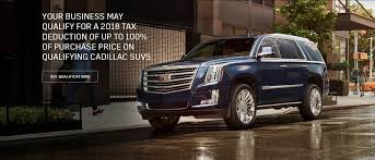 oem 1018 cadillac escalade tax ntl deduction
