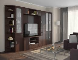 Wenge Living Room Furniture Viva Wall Unit Wenge Entertainment Centers And Wall Units Sb