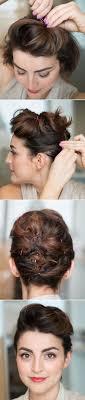 3 Peinados F Ciles Para Cabello Corto Paso A Paso Peinados F Ciles