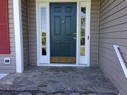 blue door house. Top Gray House Blue Door Shutters
