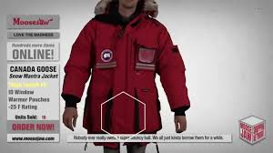 2015 Canada Goose-Snow Mantra Jacket Moosejaw Review - YouTube