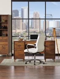 realspace modern comfort series winsley bonded leather mid back chair white 3