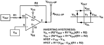 Op Amp Comparator Curing Comparator Instability With Hysteresis Analog Devices